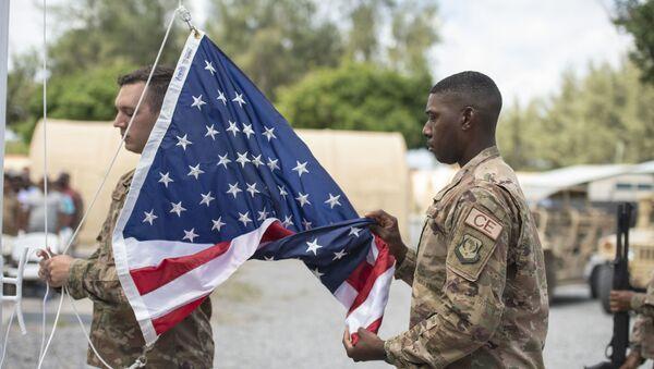 Soldados de EEUU en una base militar en Kenia (archivo) - Sputnik Mundo