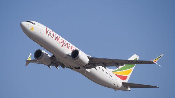 Un Boeing 737 MAX de Ethiopian Airlines - Sputnik Mundo