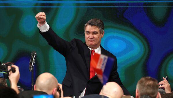 Zoran Milanovic, el presidente electo de Croacia  - Sputnik Mundo