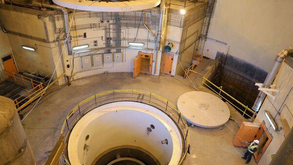 El reactor nuclear de la central de Arak en Irán - Sputnik Mundo