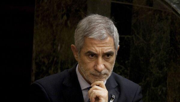 Gaspar Llamazares, líder de la formación de izquierda Actúa  - Sputnik Mundo