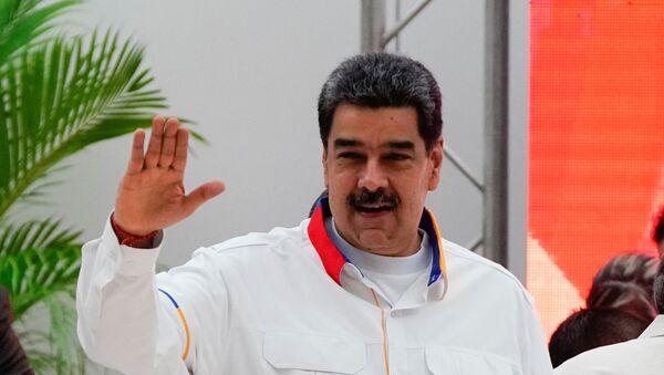 El presidente de Venezuela Nicolás Maduro - Sputnik Mundo