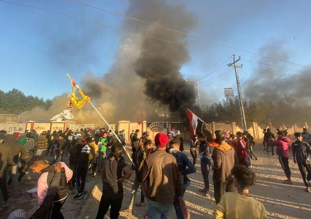 Disturbios en irak