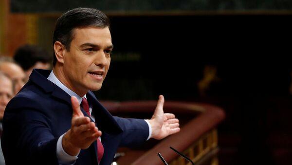 Pedro Sánchez, presidente del Gobierno español con plenos poderes - Sputnik Mundo