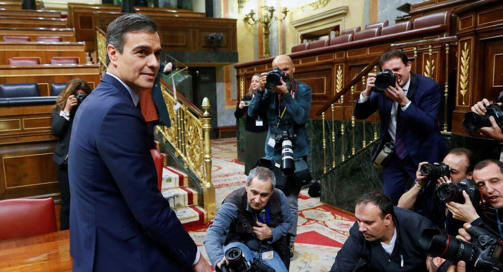 Pedro Sánchez, presidente del Gobierno español con plenos poderes