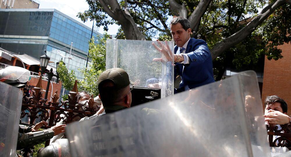 Juan Guaidó, el político opositor venezolano