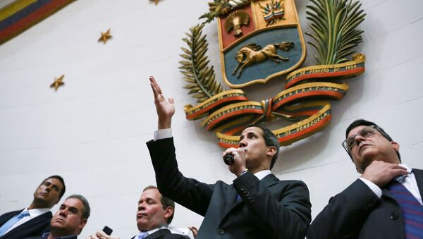 Juan Guaidó, el diputado opositor venezolano  - Sputnik Mundo