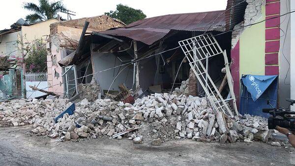 Consecuencias del sismo en Puerto Rico - Sputnik Mundo