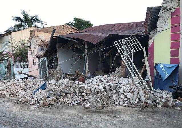 Consecuencias del sismo en Puerto Rico