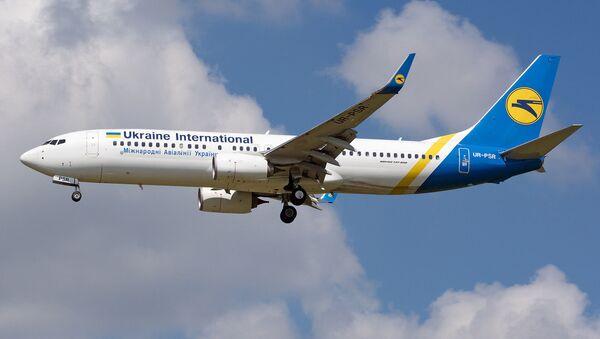 Un Boeing 737 ucraniano (archivo) - Sputnik Mundo