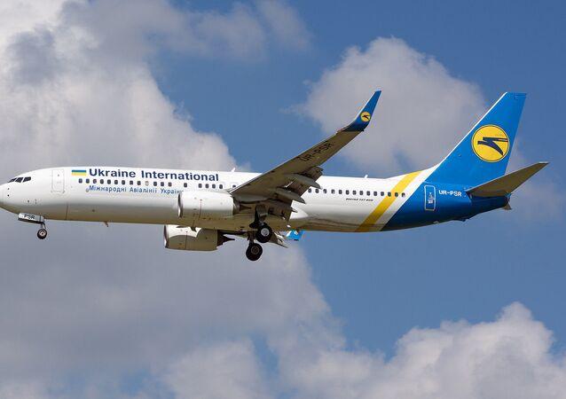 Un Boeing 737 ucraniano (archivo)