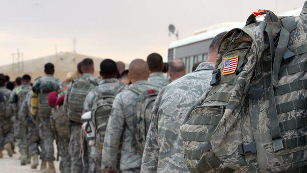 Militares de EEUU en Irak - Sputnik Mundo