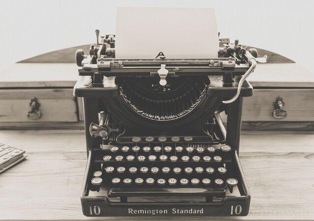 Una maquina de escribir (imagen referencial)