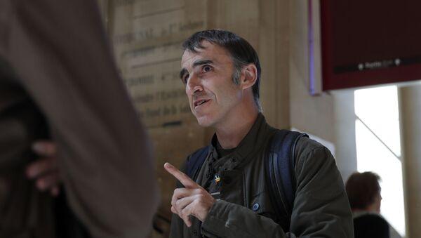 Egoitz Urrutikoetxea, el hijo de Josu Urrutikoetxea, alias Josu Ternera, exdirigente de la organización terrorista ETA - Sputnik Mundo