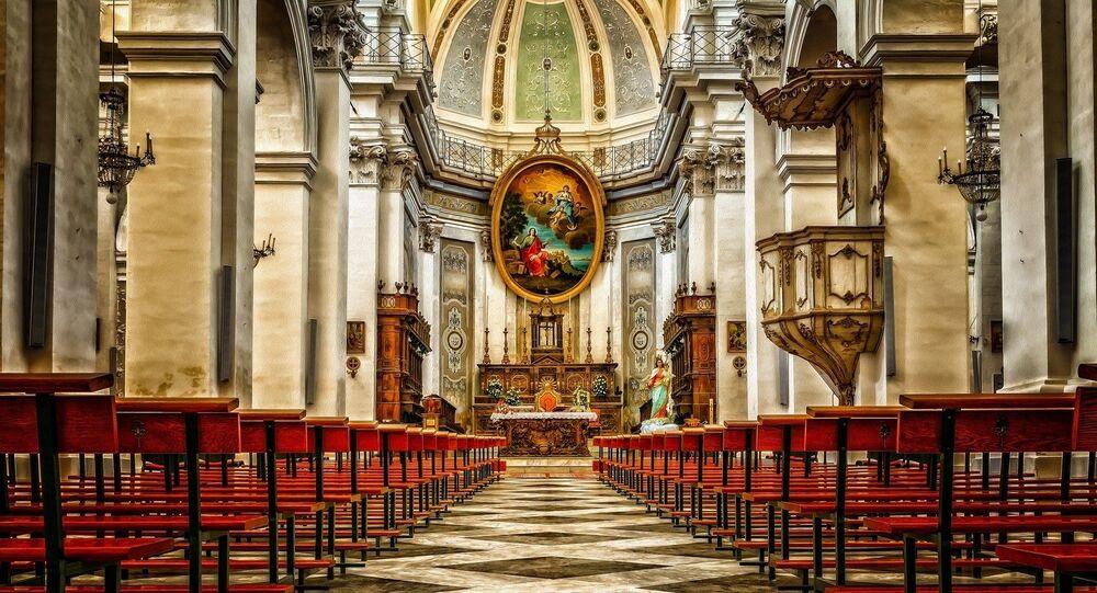 Una iglesia (imagen referencial)