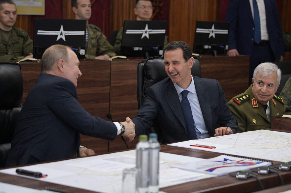 Así fue la visita de Putin a Siria