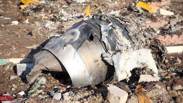 Lugar del siniestro del avión ucraniano cerca del aeropuerto de Teherán - Sputnik Mundo