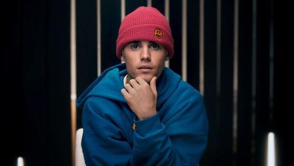 Justin Bieber, cantante canadiense - Sputnik Mundo