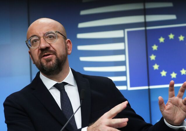 El presidente del Consejo Europeo, Charles Michel