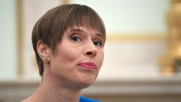 Kersti Kaljulaid, presidenta de Estonia - Sputnik Mundo