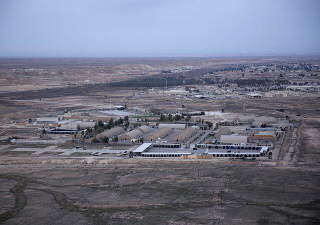 La base estadounidense Ain al Asad en Irak (archivo)