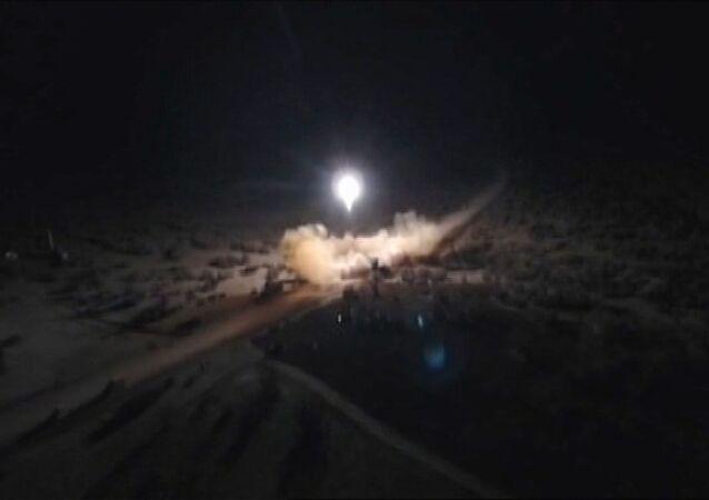 Irán lanza misiles contra bases estadounidenses en Irak