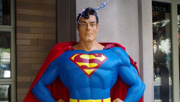 Una estatua de Superman - Sputnik Mundo