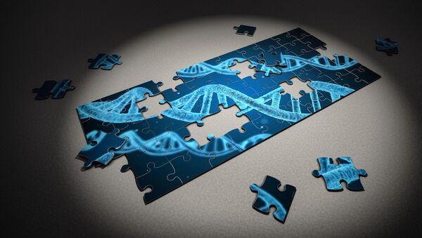 Un código genético (imagen referencial) - Sputnik Mundo
