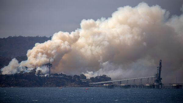 Humo de incendios forestales en Australia - Sputnik Mundo