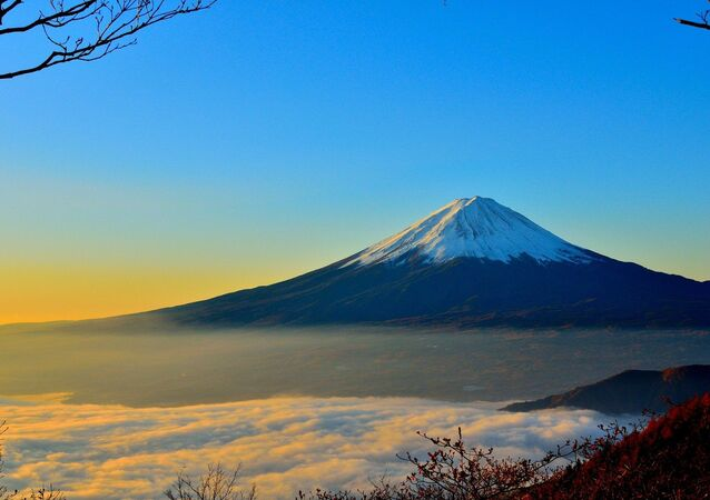 El monte Fuji