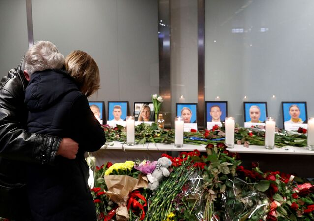Homenaje a las víctimas del avión ucraniano siniestrado en Irán