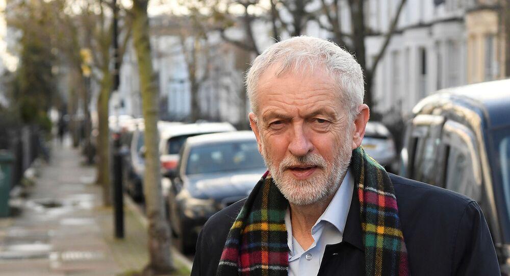 Jeremy Corbyn, lider laborista británico