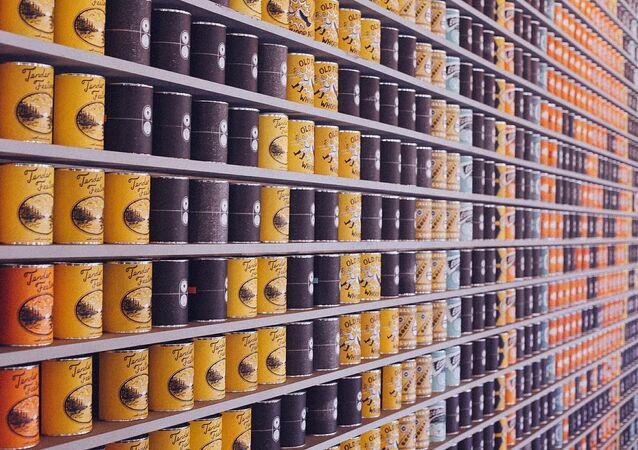 Alimentos enlatados (archivo)