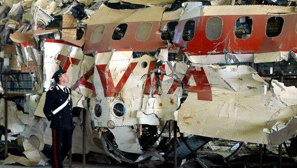 Los restos del avión DC-9-15 de Aerolinee Itavia, derribado en junio de 1980 - Sputnik Mundo