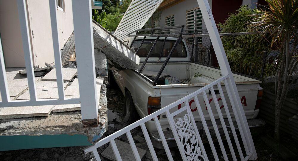 Los daños causados por sismos en Puerto Rico