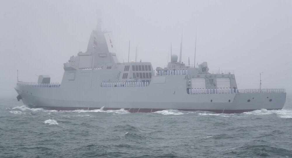 El destructor chino Type 055
