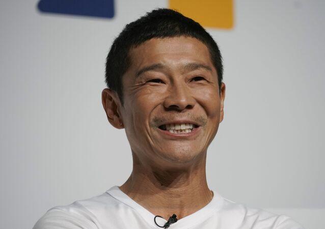 Yusaku Maezawa, el multimillonario japonés