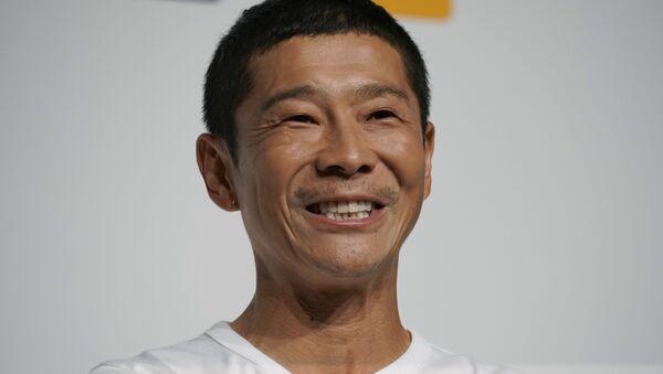 Yusaku Maezawa, el multimillonario japonés - Sputnik Mundo