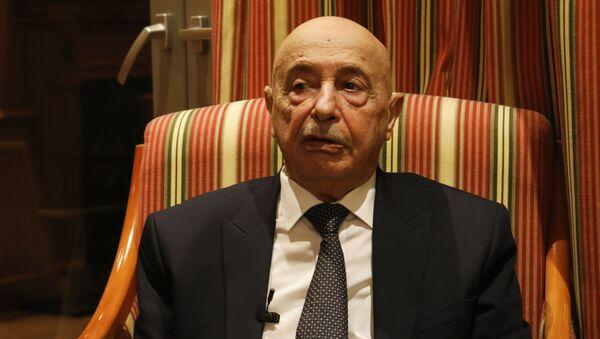 Aguila Saleh Issa, portavoz del Parlamento libio - Sputnik Mundo