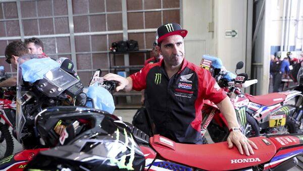 Paulo Goncalves, motociclista portugués - Sputnik Mundo