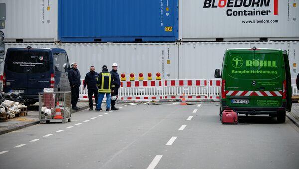 Una carretera cerrada en Dortmund - Sputnik Mundo