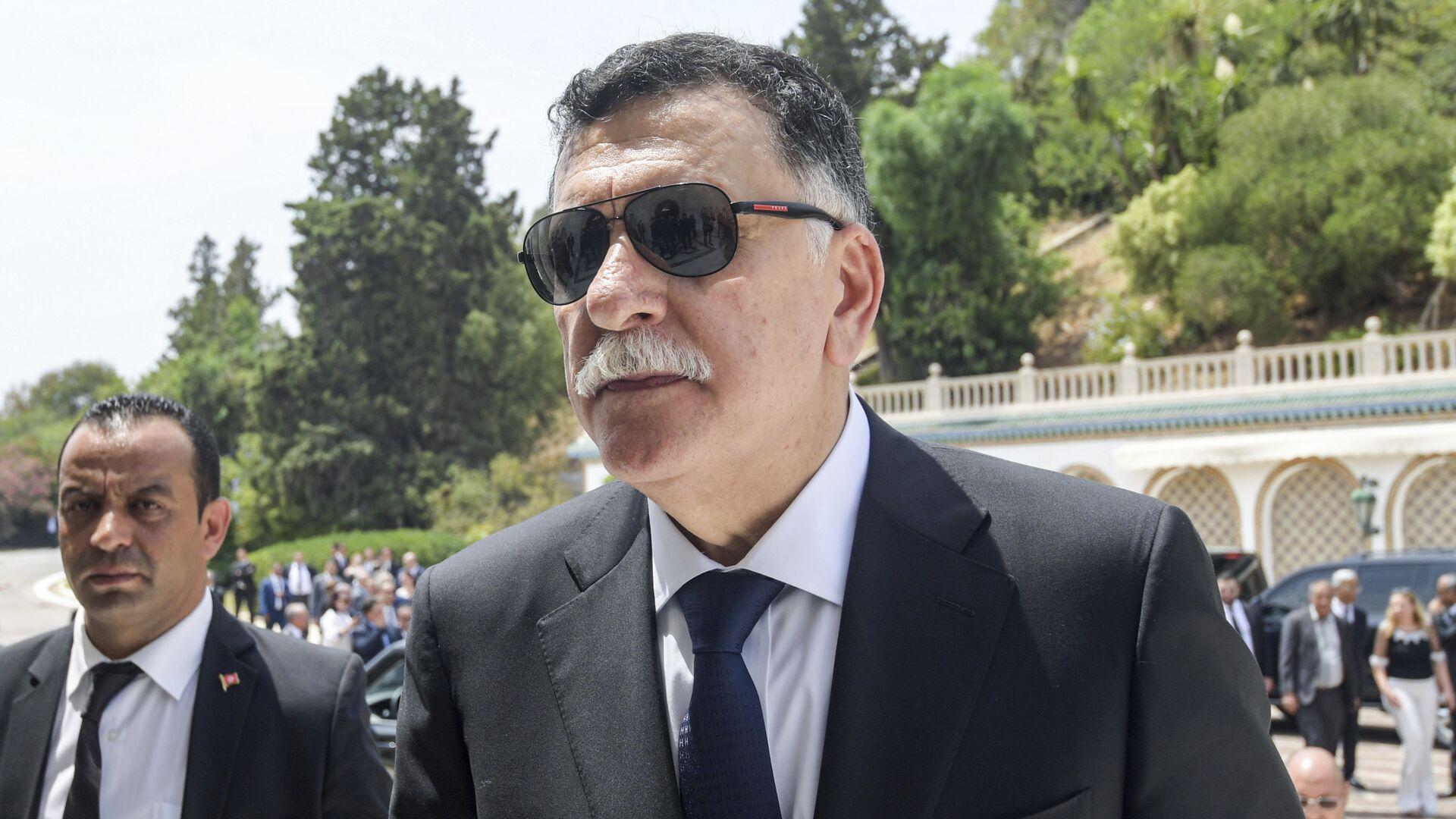 Fayez Sarraj, jefe del Gobierno de Acuerdo Nacional de Libia - Sputnik Mundo, 1920, 15.02.2021