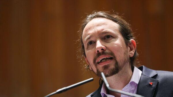 Pablo Iglesias, el nuevo vicepresidente segundo y el líder del partido progresista Unidas Podemos - Sputnik Mundo