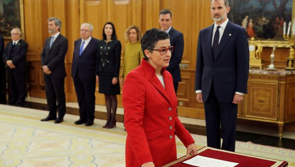 Arancha González Laya, nueva titular del  de Asuntos Exteriores de España - Sputnik Mundo