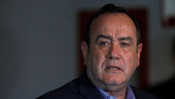 El presidente de Guatemala Alejandro Giammattei - Sputnik Mundo