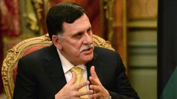 Fayez Sarraj, jefe del Gobierno de Unidad Nacional de Libia  - Sputnik Mundo