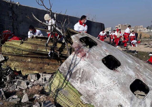 El Boeing 737-800 de Ukraine International Airlines derribado en Irán