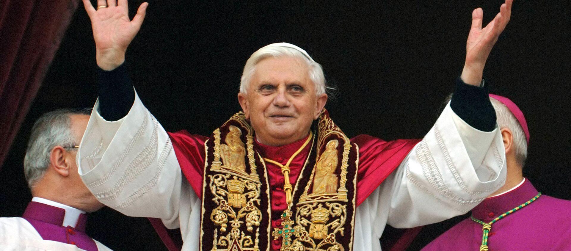 El papa Benedicto - Sputnik Mundo, 1920, 14.01.2020