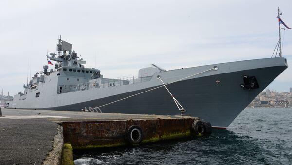 La fragata rusa Almirante Essen - Sputnik Mundo