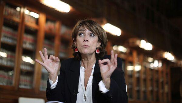 Dolores Delgado, la ministra de Justicia de España - Sputnik Mundo